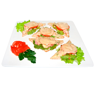 Горячий бутерброд с сосиской