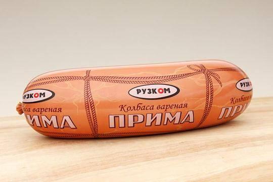 Колбаса «Прима» 1 кг (полукольцо)