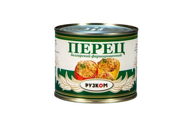 Перец болгарский фаршированный