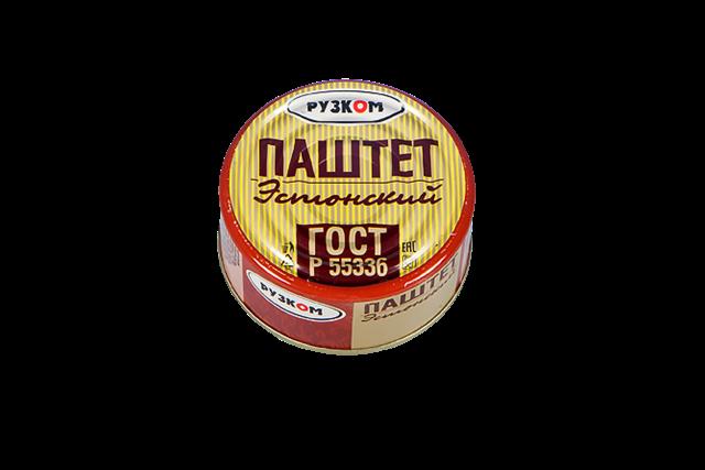 Паштет «Эстонский» литография 117 гр.