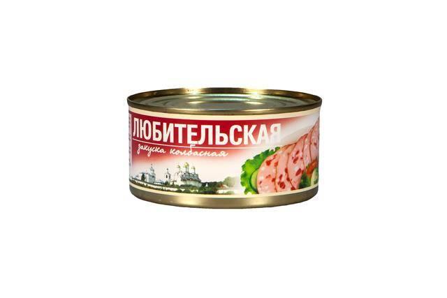 Колбасная закуска «Любительская»
