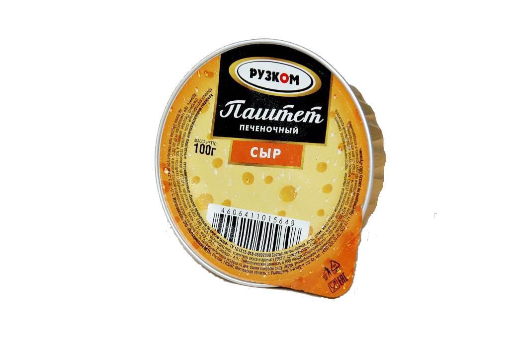 Паштет печёночный «Сыр»